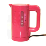 Bodum Bistro Fuchsia 17 Ounce Electric Water Kettle