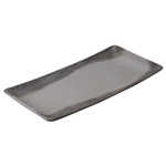 Revol Arborescence Pepper Porcelain Rectangular 11.5 Inch Serving Platter