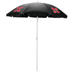 Picnic Time Black University of Nebraska Cornhuskers 5.5 Foot Umbrella