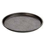 Lodge Seasoned Cast Iron 9.25 Inch Round Handleless Serving Griddle