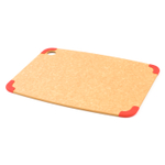 Epicurean Nonslip Series Natural with Red Corners 14.5 x 11.25 Inch Cutting Board