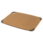 Epicurean Nonslip Series Nutmeg with Brown Corners 14.5 x 11.25 Inch Cutting Board