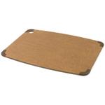 Epicurean Nonslip Series Nutmeg with Brown Corners 17.5 x 13 Inch Cutting Board