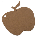 Epicurean Novelty Series Apple Shaped Cutting Board