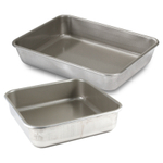 Nordic Ware 2 Piece Rectangle and Square Cake Pan Set
