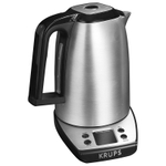 Krups Savoy Adjustable Temperature 1.7 Liter Electric Kettle with LCD Display