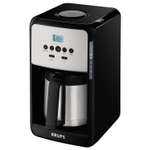 Krups Savoy Black 12 Cup Programmable Themal Coffee Maker