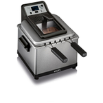 Krups Professional 4.5 Liter Electric Deep Fryer with 4 Preset Options