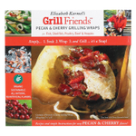 Elizabeth Karmel Pecan and Cherry Wood Paper Grilling Wraps, Pack of 8