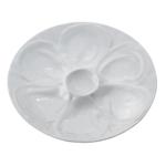 HIC Harold Import Co Porcelain 9 Inch Oyster Serving Plate