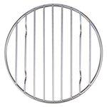 Mrs. Anderson's Baking Chrome 9.25 Inch Round Cooling Rack