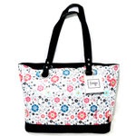Thermos Foogo Poppy Patch Insulated Diaper Tote with Changing Pad