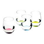 Riedel O Happy Stemless Wine Glass Tumbler, Set of 8