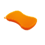 Kuhn Rikon Orange Stay Clean Scrubber