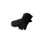 Lodge Black Leather Gloves