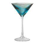 Artland Misty Aqua 8 Ounce Martini Glass