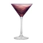 Artland Misty Purple 8 Ounce Martini Glass