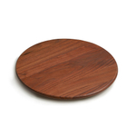 JK Adams Walnut Wood 14 Inch Round Lazy Susan