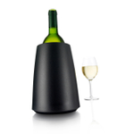 Vacu Vin Black Elegant Active Wine Bottle Cooler
