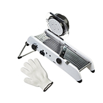 Progressive PL8 Professional Mandoline with Victorinox Performance Shield 3 X-Large Cut Resistant Glove