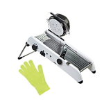 Progressive PL8 Professional Mandoline with Victorinox UltraShield PerformanceFit I Yellow Cut Resistant Glove