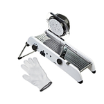 Progressive PL8 Professional Mandoline with Victorinox UltimateSHIELD X-Large Cut Resistant Glove