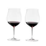 Riedel Sommeliers Fine Crystal 37 Ounce Burgundy Grand Cru Glass, Set of 2