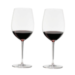 Riedel Sommeliers Fine Crystal 30 Ounce Bordeaux Grand Cru Glass, Set of 2