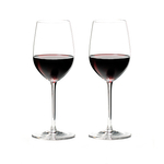 Riedel Sommeliers Fine Crystal 12.375 Ounce Mature Bordeaux Wine Glass, Set of 2