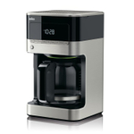 Braun BrewSense Black and Stainless Steel 12 Cup Drip Coffee Maker