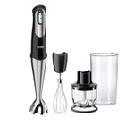 Braun Multiquick 7 Black and Stainless Steel Variable Smart Speed Hand Blender