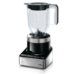 Braun PureMix Black and Stainless Steel 56 Ounce Countertop Blender