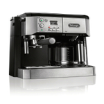 DeLonghi Combi Advanced Espresso and 10 Cup Drip Coffee Machine with Cappuccino System