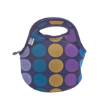 Built NY Gourmet Getaway Plum Dot Mini Snack Tote