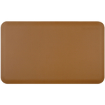 WellnessMats Tan Standard Anti-Fatigue Mat, 3 x 2 Foot