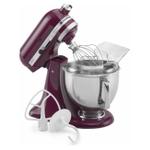 KitchenAid KSM150PSBX Artisan Series Bordeaux 5 Quart Tilt-Head Stand Mixer with Pouring Shield