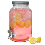 Artland Oasis Glass 1.5 Gallon Beverage Jar with Spigot