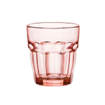 Bormioli Rocco Rock Bar Lounge Peach 9.25 Ounce Rocks Glass