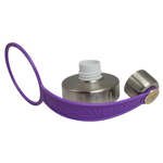 Eco Vessel Boulder and Bigfoot Stainless Steel Replacement Screw Cap with Purple Strap