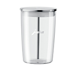 Jura Glass and Stainless Steel 16 Ounce Milk Container for Jura Impressa Machines