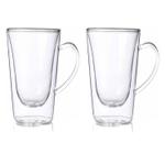 Luigi Bormioli Thermic 14 Ounce Hot Drink Glass, Set of 2