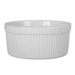 BIA Classic White Porcelain 1.5 Quart Souffle Baking Dish