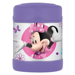 Thermos Funtainer Minnie's Bow-Tique TV Show Stainless Steel Vacuum Insulated 10 Ounce Food Jar