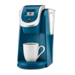 Keurig 2.0 K250 Peacock Blue Brewing System with Touch Display
