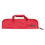 Messermeister Red 5 Pocket Padded Knife Bag