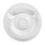 BIA White Porcelain 9.5 Inch Artichoke Plate