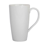 BIA White Porcelain 17 Ounce Latte Mug