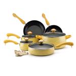 Paula Deen Signature Porcelain Butter 15 Piece Cookware Set