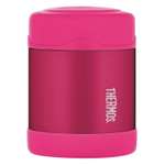 Thermos Funtainer Pink Stainless Steel Vacuum Insulated 10 Ounce Food Jar