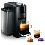 Nespresso VertuoLine Evoluo Deluxe Piano Black Coffee and Espresso Maker